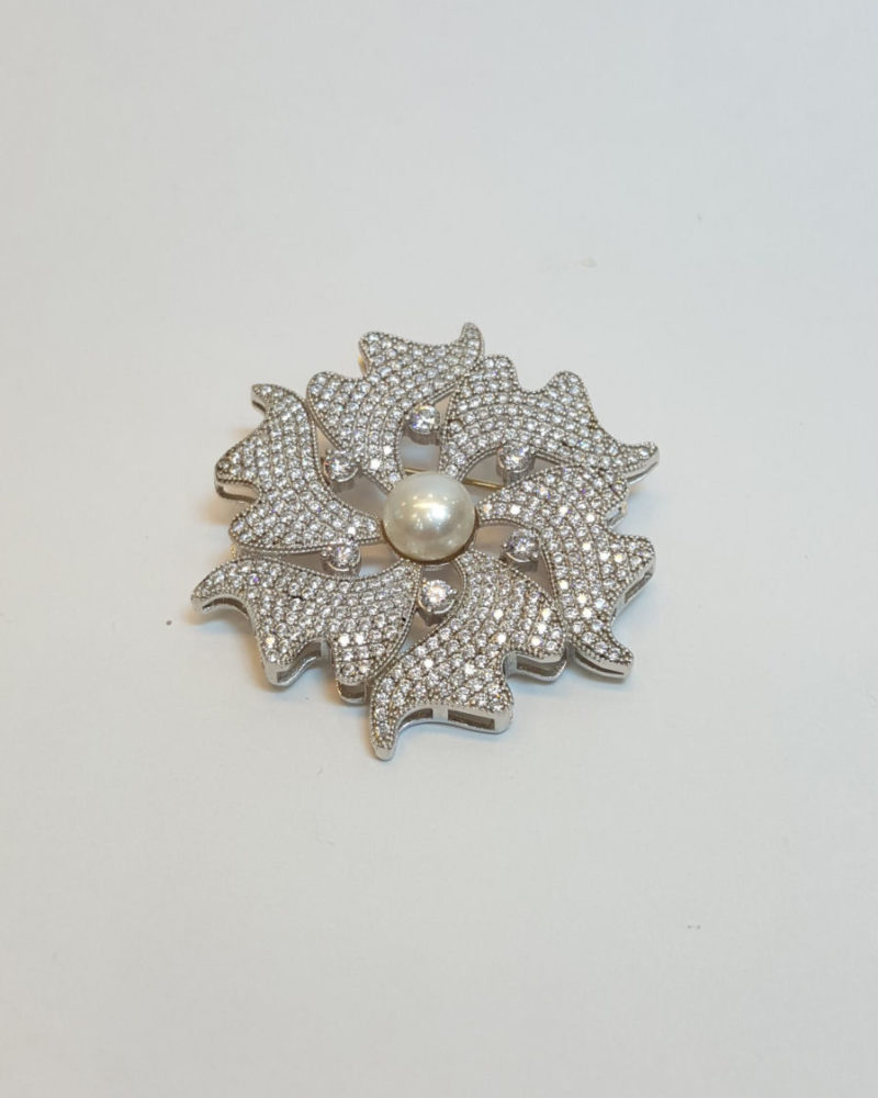 gümüş yaka iğnesi broş